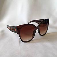 Солнцезащитные очки женские GUCCI 2018 102 коричневый