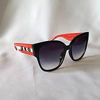 Солнцезащитные очки женские GUCCI 2018 103 черно-красный