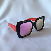 Солнцезащитные очки женские DOLCE GABBANA розовый, фото 1