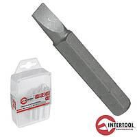 """Комплект викруткових насадок InterTool SL4мм, 1,4"""", 50мм (10шт)"""