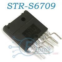 STR-S6709, импульсный регулятор напряжения с выходным биполярным ключом, MULTIWATT-9