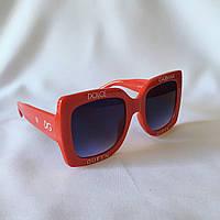 Солнцезащитные очки женские DOLCE GABBANA красный, фото 1