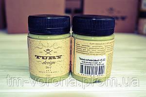 Акриловая краска TURY Design (45-30) темно-оливковый