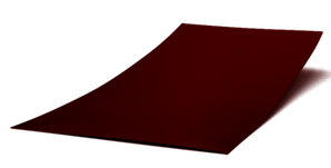 Гладкий лист полимер (0,35мм толщина)