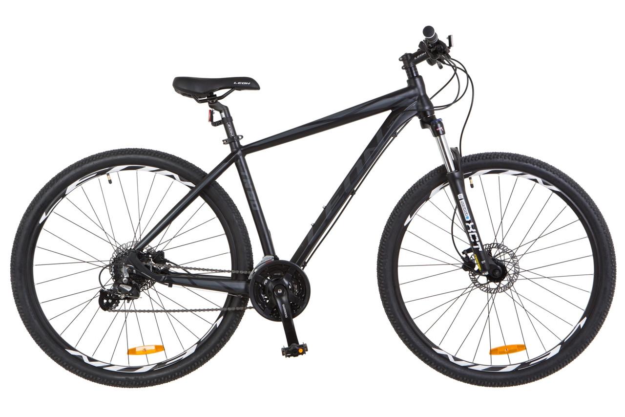 """Горный велосипед 29"""" LEON TN 80 HDD 2018 (черно-графитовый (м))"""