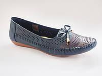 Женские комфортные легкие летние туфли на низком ходу, мокасины Inblu