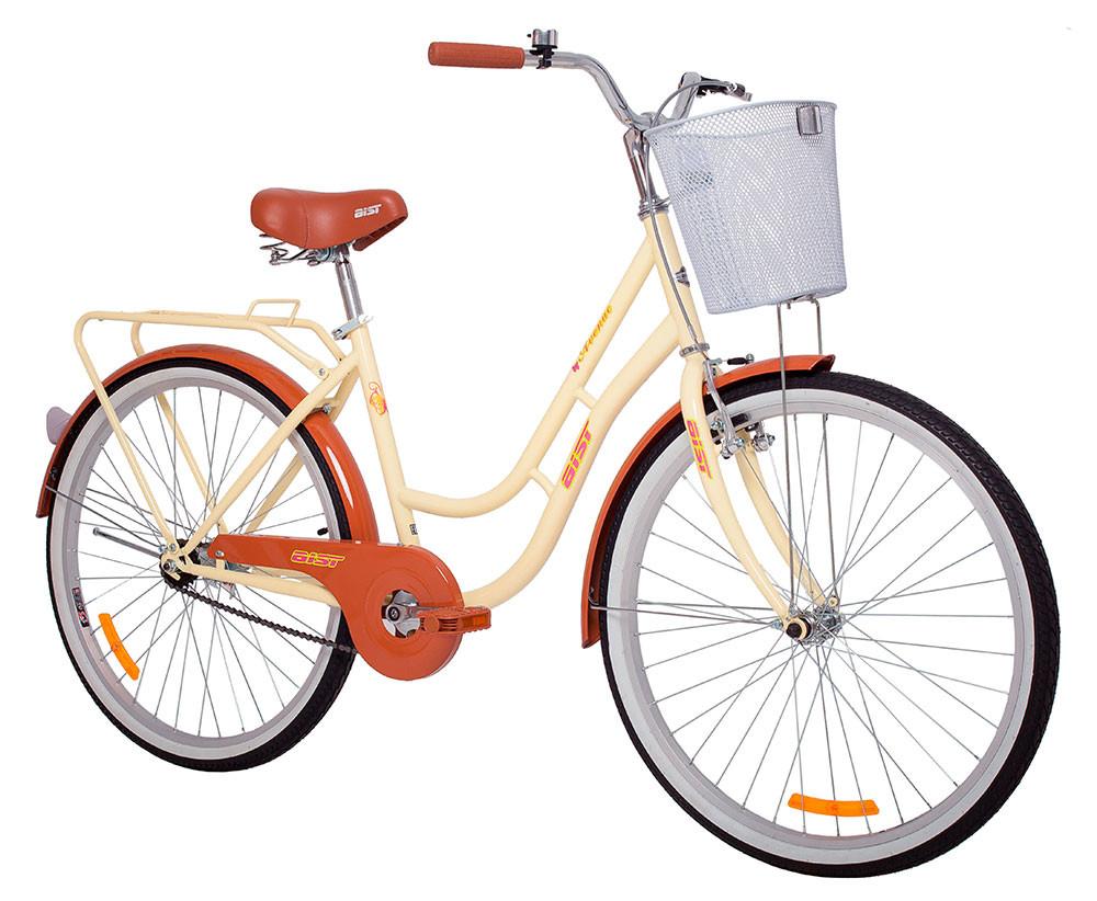 Велосипед дорожный АИСТ AVENUE (женский) бежевый