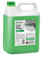 Клининговое профессиональное средство для мытья пола Floor Wash Strong 5.6kg Grass TM
