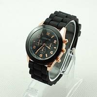 Женские наручные силиконовые часы Geneva копия