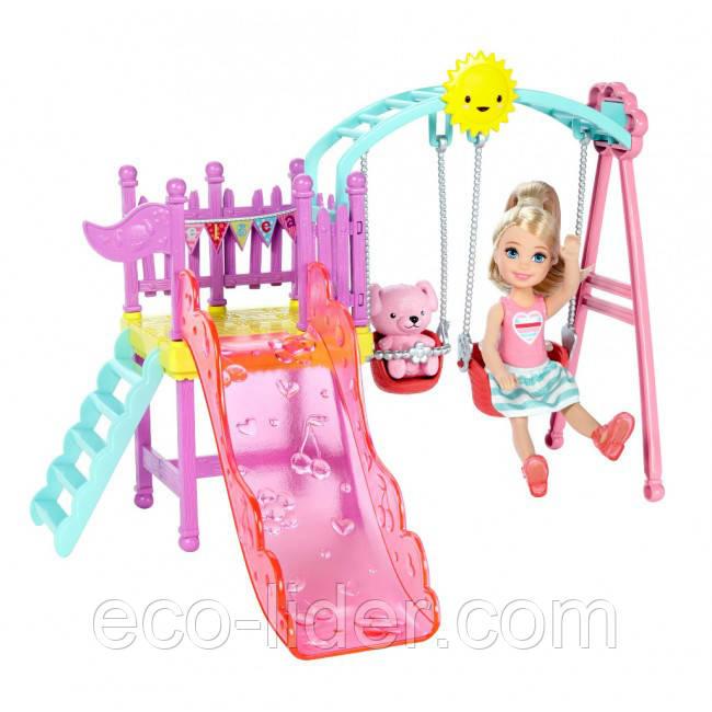 """Игровой набор с сестренкой Барби """"Развлечения Челси во дворе"""" Barbie"""