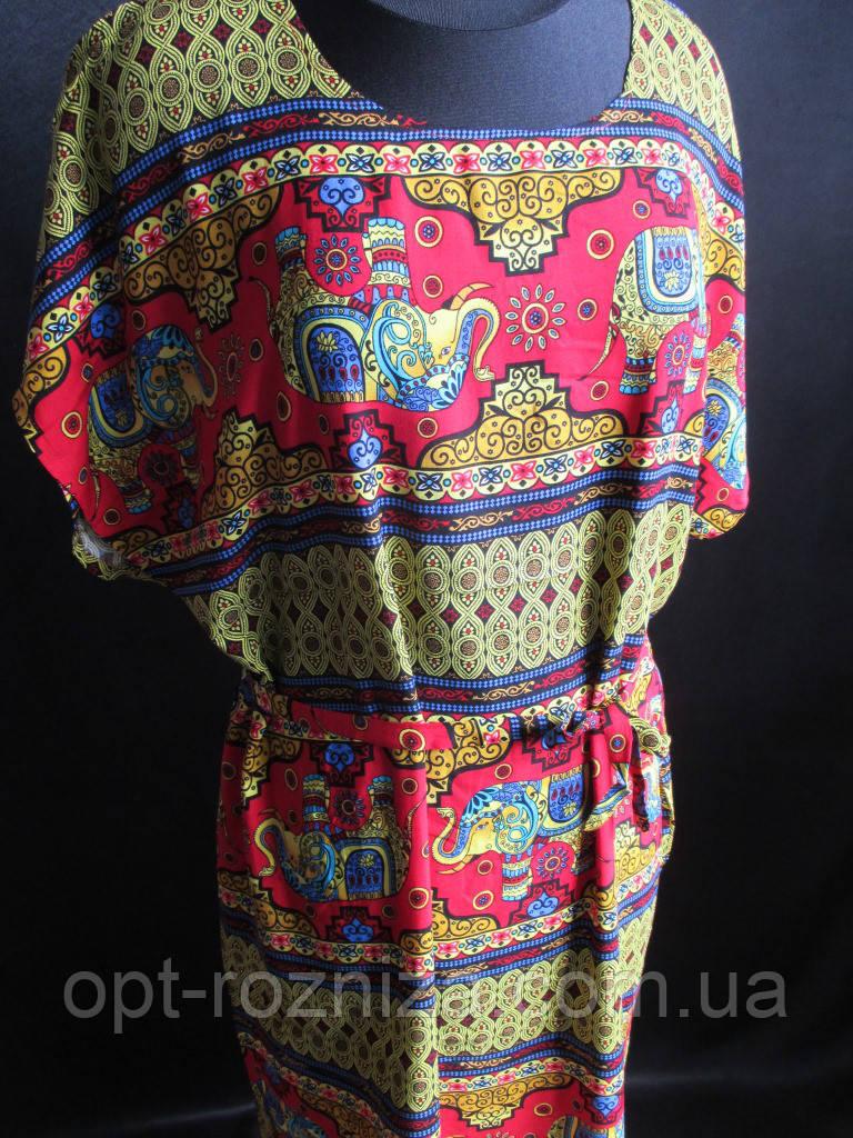 Женские штапельные платья для дома и отдыха.
