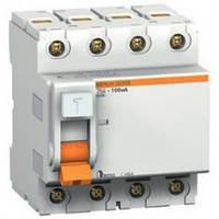 Дифференциальный выключатель 40 A 100 mA 4P ВД63 Schneider Electric