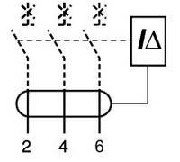 Дифференциальный модуль Acti 9 VIGI iC60 4P 25A 100мА A Schneider Electric