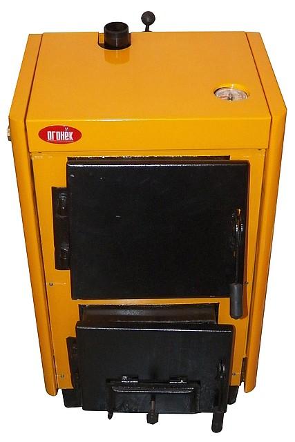 Опалення котлом на твердому паливі котел КОТВ-10