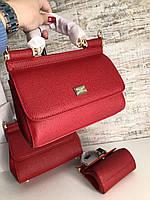 Женская мини-сумочка DOLCE&GABBANA 20 см (реплика), фото 1