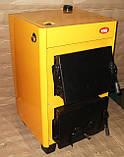 Опалення котлом на твердому паливі котел КОТВ-10, фото 4