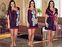 Домашний комплект халат+ ночная сорочка