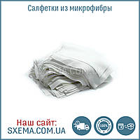 Салфетки (87х87мм) микрофибра для очистки поверхностей перед склеиванием дисплейного модуля (140 шт)