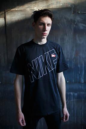 Мужская футболка Nike KD-C2.Черная, фото 2