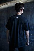 Мужская футболка Nike KD-C2.Черная, фото 3