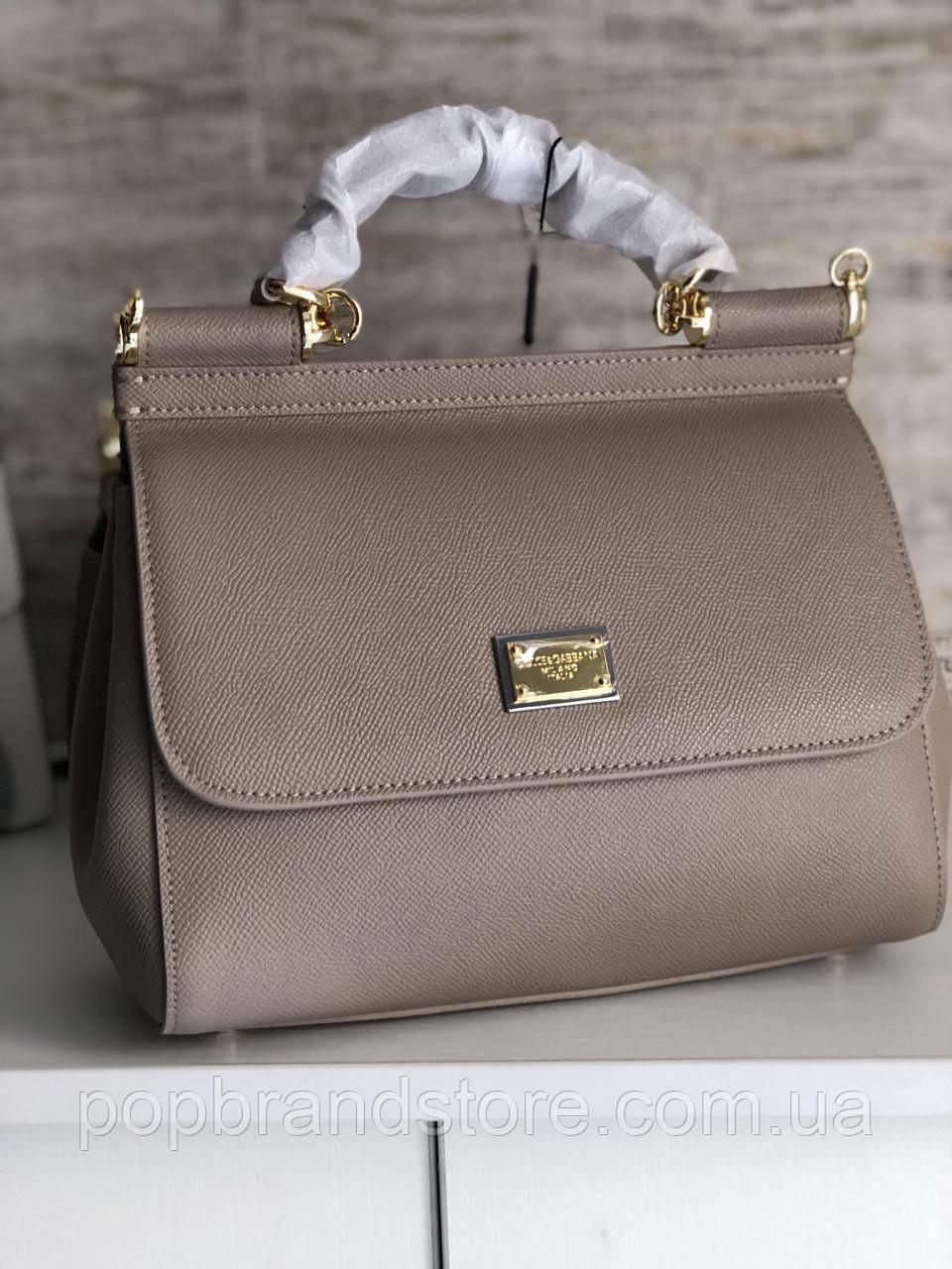 Стильная женская сумочка Brelos_Elonge из эко-кожи графитового цвета.