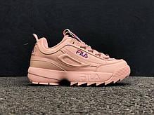 Женские кроссовки Fila Distruptor 2 Pink, Фила Дизраптор, фото 3