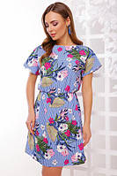 Женское летнее  платье   (42-50)