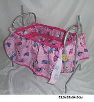 Игрушечная кроватка для куклы, Melobo 9375 SR