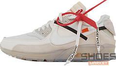 Мужские кроссовки Nike Air Max 90 X Off-White Light