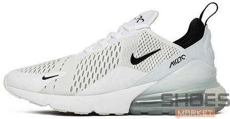 Мужские кроссовки Nike Air Max 270 (White Black) купить в интернет ... d2f4eaed73d