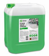 Клининговое профессиональное средство для мытья пола Floor Wash Strong 10kg Grass TM