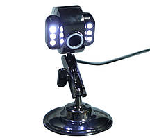 Веб-камера USB Silver HDE-A36 с подсветкой