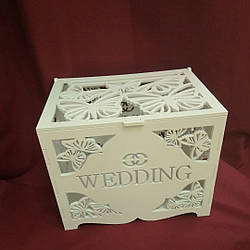 Сундучек для збору грошей на весілля, грошова скарбниця