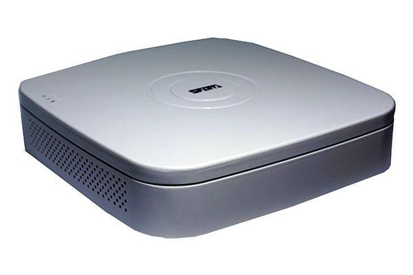 Видеорегистратор 9 канальный 2MP/1MP IP камер SPARTA SN-2004PPoE (4POE входа)