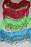 Юбка платок для восточных танцев Монеты, фото 2