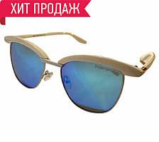 Солнцезащитные очки женские белые