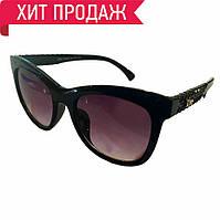 Солнцезащитные очки женские чёрные
