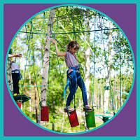 Квесты для детей в верёвочном парке Киева
