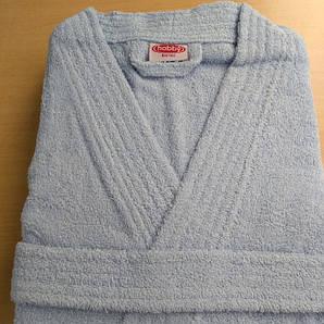 Банный халат серый