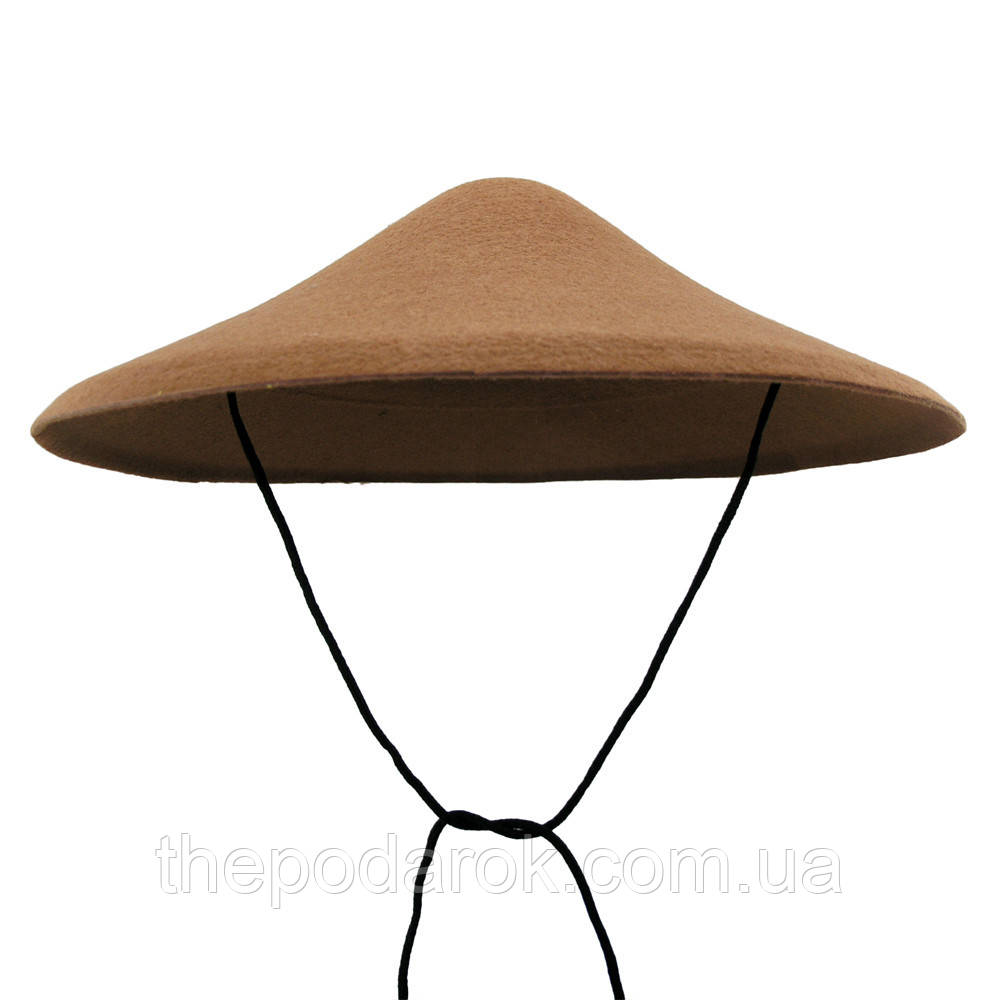Шляпа Грибок (коричневый)
