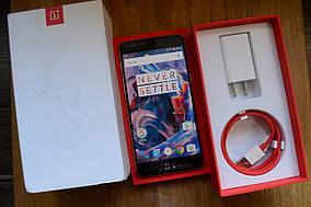 Новый OnePlus 3 A3000 Graphite 64Gb, 6Gb, 16MP - Оригинал!