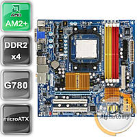 Материнская плата Gigabyte GA-MA78GM-S2H rev.1.0 (AM2+/AMD 780G/4xDDR2) БУ