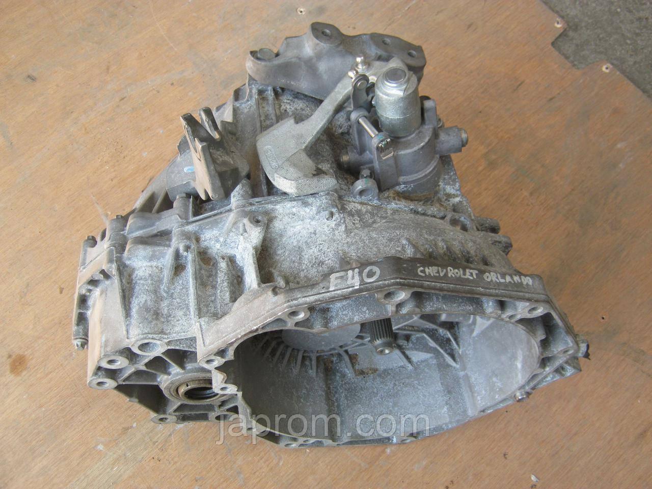МКПП механическая коробка передач Chevrolet Orlando 2.0 VCDI F40