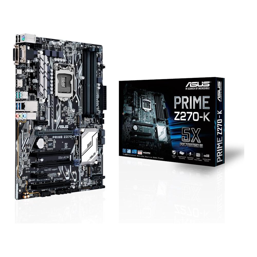 Материнская плата ASUS PRIME Z270-K (s1151/Z270/VGA/PCI-E/SATA III)