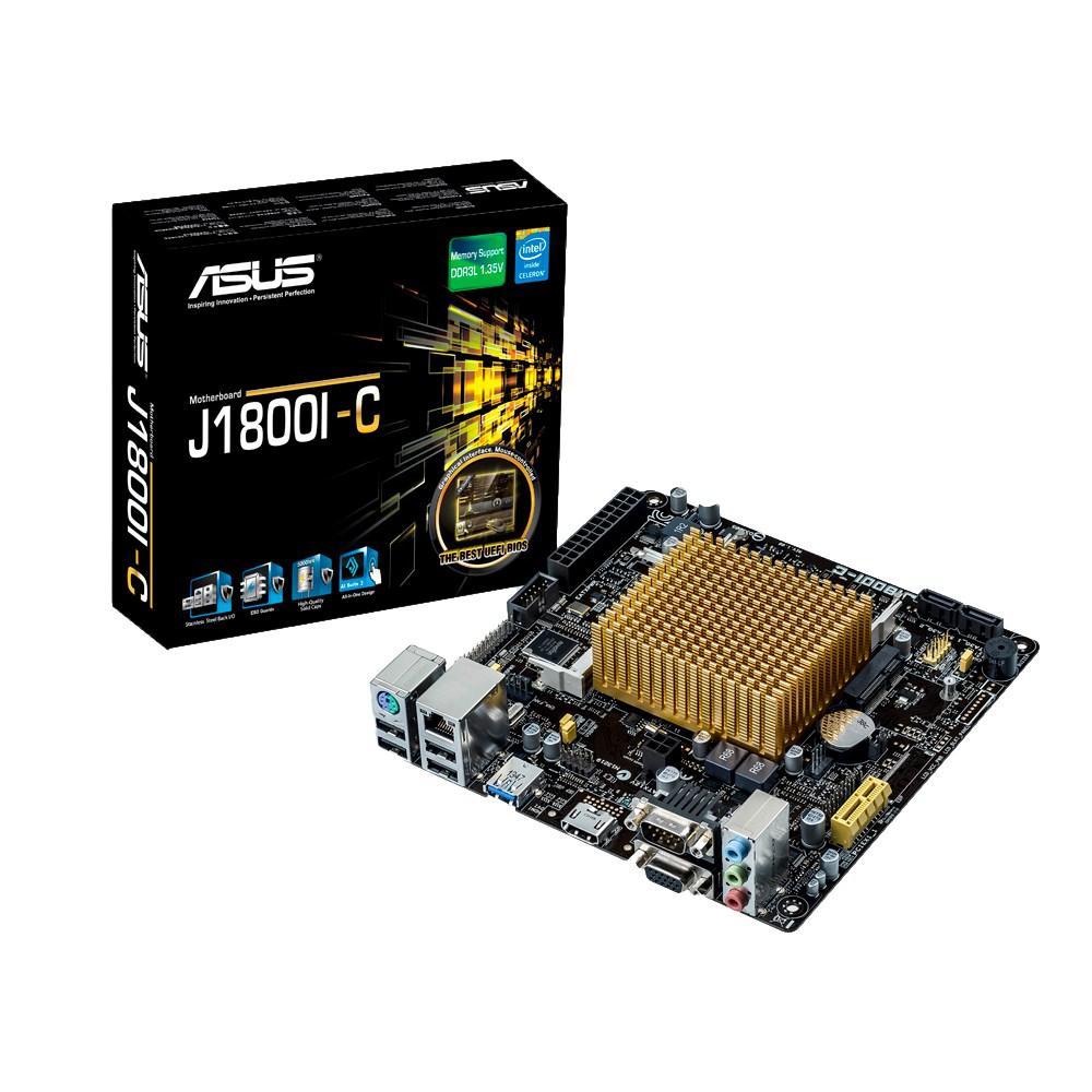 Материнская плата ASUS J1800I-C (J1800/VGA/PCI-E/SATA III)