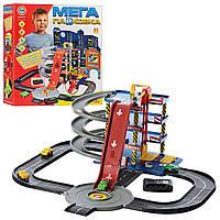 Детский игровой гараж (4 уровней парковки,4 машинки) (В 922-7)