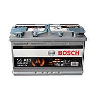 Акумулятор BOSCH 6СТ-80 AGM Евро (S5A11)