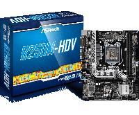 Материнская плата ASRock B250M-HDV (s1151/B250/HDMI/DVI-D/PCI-E/D-Sub/SATA III), фото 1