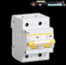 Автоматический выключатель ВА47-100 2P 100A  IEK