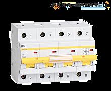 Автоматический выключатель ВА47-100 4P 80A  IEK
